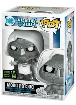 PRE ORDER FUNKO POP 2020 ECCC FANTASTIC FOUR Doctor Doom Off