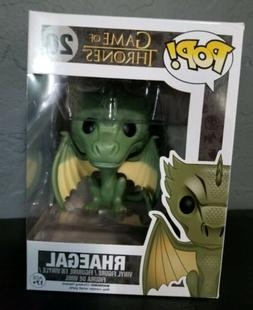 Rhaegal  - Game of Thrones #20 - VAULTED VHTF RARE Funko Pop