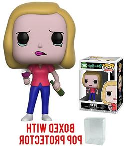Rick and Morty Beth with Wine Glass Pop! Vinyl Figure and