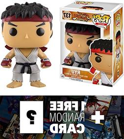 Ryu: Funko POP! x Street Fighter Vinyl Figure + 1 FREE Video