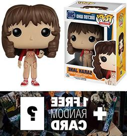 Sarah Jane: Funko POP! x Doctor Who Vinyl Figure + 1 FREE Of