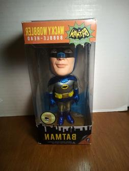 FUNKO SDCC BATMAN 1966 METALLIC WACKY WOBBLER BOBBLEHEAD POP