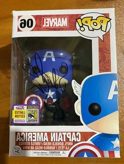 Sebastian Stan Signed SDCC Bucky Cap Captain America 06 Funk