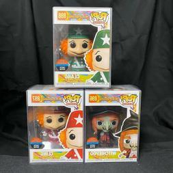 set of 3 pop toy tokyo h