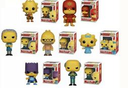 Simpsons Funko Pop Set of 7 Maggie Lisa Bartman Grampa Moe M