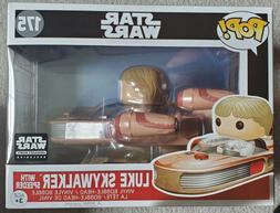 Smugglers Bounty Box Funko Pop! Exclusive Luke Skywalker wit