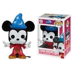 "Sorcerer Mickey: ~4.8"" Funko POP! Disney Vinyl Figure"