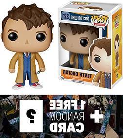 Tenth Doctor: Funko POP! x Doctor Who Vinyl Figure + 1 FREE
