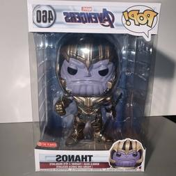 Thanos Funko Pop 10 Inch Marvel Avengers End Game Target Exc