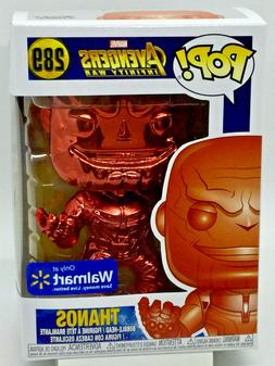 Thanos Red Chrome Pop #289 Funko Marvel Avengers Infinity Wa