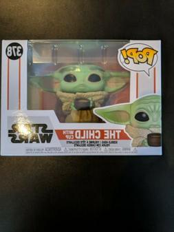 The Child with Cup #378 Funko Pop Star Wars Mandalorian Viny