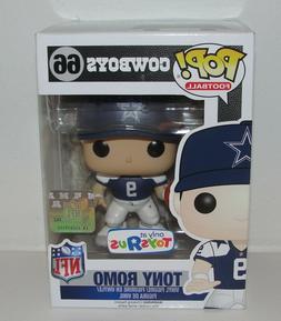 Tony Romo Funko Pop NFL Dallas Cowboys Throwback Jersey Viny