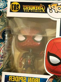 Funko Toys PoP Avengers Infinity War IRON Spider Spider-Man