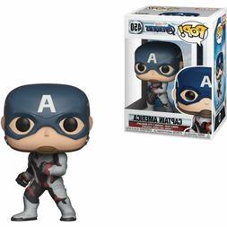 """Funko Toys PoP Marvel Avengers Endgame CAPTAIN AMERICA 4"""" Fi"""