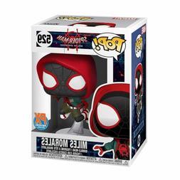 Funko Toys POP Marvel INTO SPIDERVERSE Miles Morales Figure