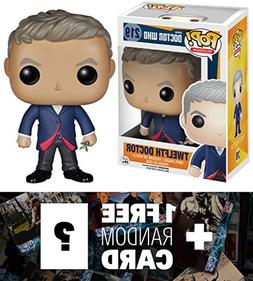 Twelfth Doctor: Funko POP! x Doctor Who Vinyl Figure + 1 FRE