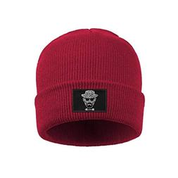 Unisex Bad-Heads-Knit Cap One Size Keep Warm Stretch Fine Kn