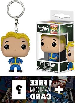 Vault Boy: Pocket POP! x Fallout Mini-Figure Keychain + 1 FR