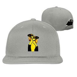 HTSFBARQ WYF Men&Women Breaking Bad Funny Hip-Hop Ash Cap Ad